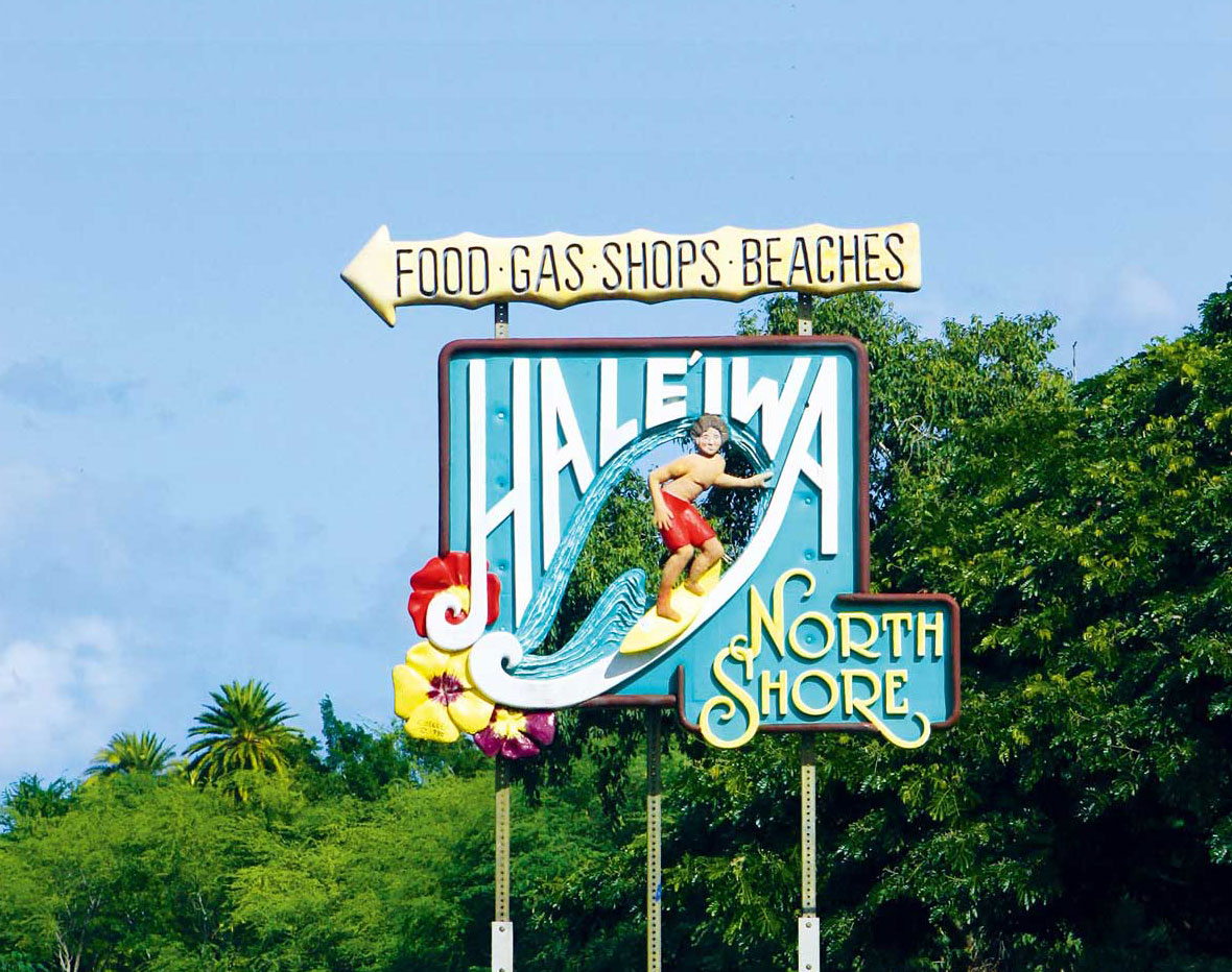 A Closer Look Into Haleiwa Town