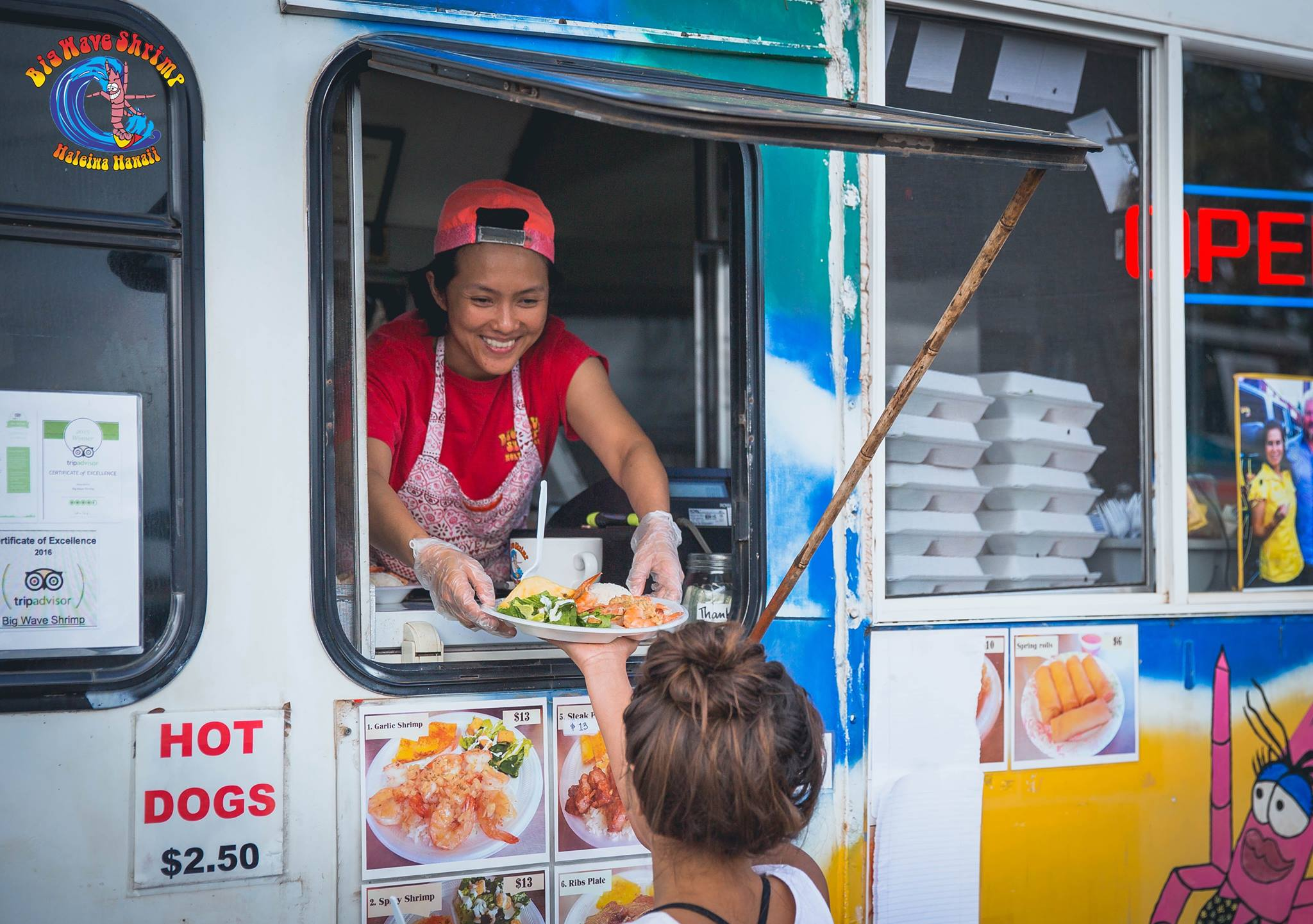 Food Trucks in Hawaii: Manapua Man to Big Wave Shrimp